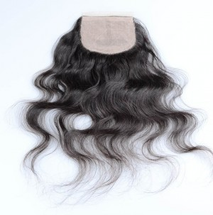 Revin Human Hair Closure Virgin Hair Silk Based Closure Size 4×4 Body Wave