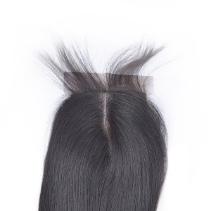 "Brazilian Silk Closure Hair Silk Straight Brazilian Hair Silk Base Silk Closure 8""-18"""