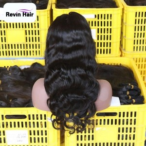 Revin New Arrvial Transparent Frontal Lace Wigs Body Wave