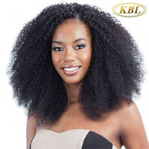 Kinky Curly Hair Extension 100% Unprocessed Brazilian Virgin Hair