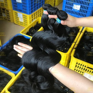 XR Remy Unprocessed Human Hair Body Wave Wholesale Brazilian Hair