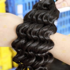 XR Deep Wave Best Sellers Products 100% Brazilian Human Virgin Hair Bundles