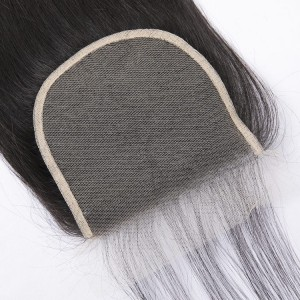 Cheap XR Straight 5x5 Lace Closure Unprocessed Brazilian Human Hair